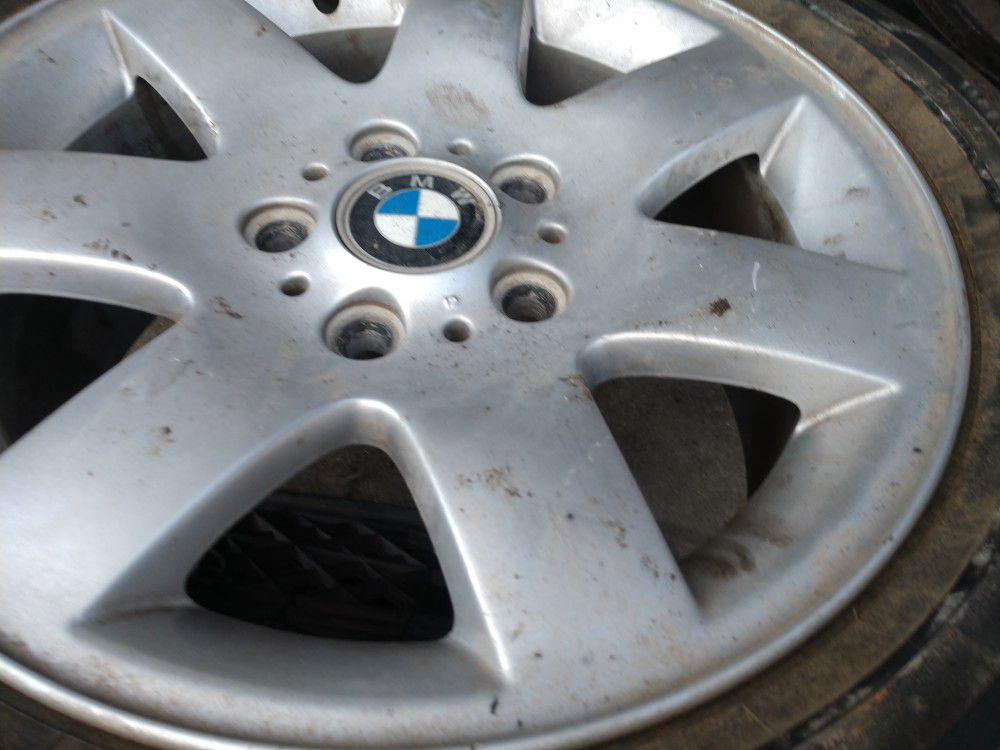 16 inch BMW rims with tires