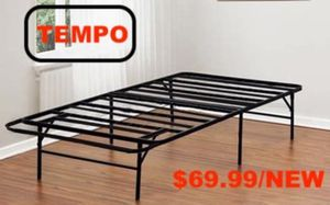 Photo Tempo Collection 14 inch High Profile Platform Smart Base Bed Frame, Full