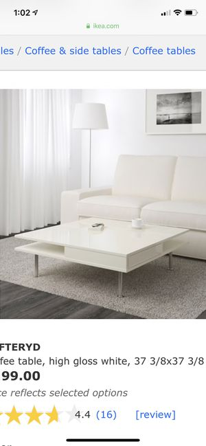 Terrific On Sale Ikea Toftetyd Coffee Table White For Sale In Pasadena Ca Offerup Uwap Interior Chair Design Uwaporg