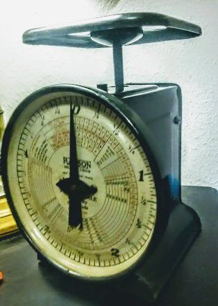 1949 Hanson postal scale model number 1509