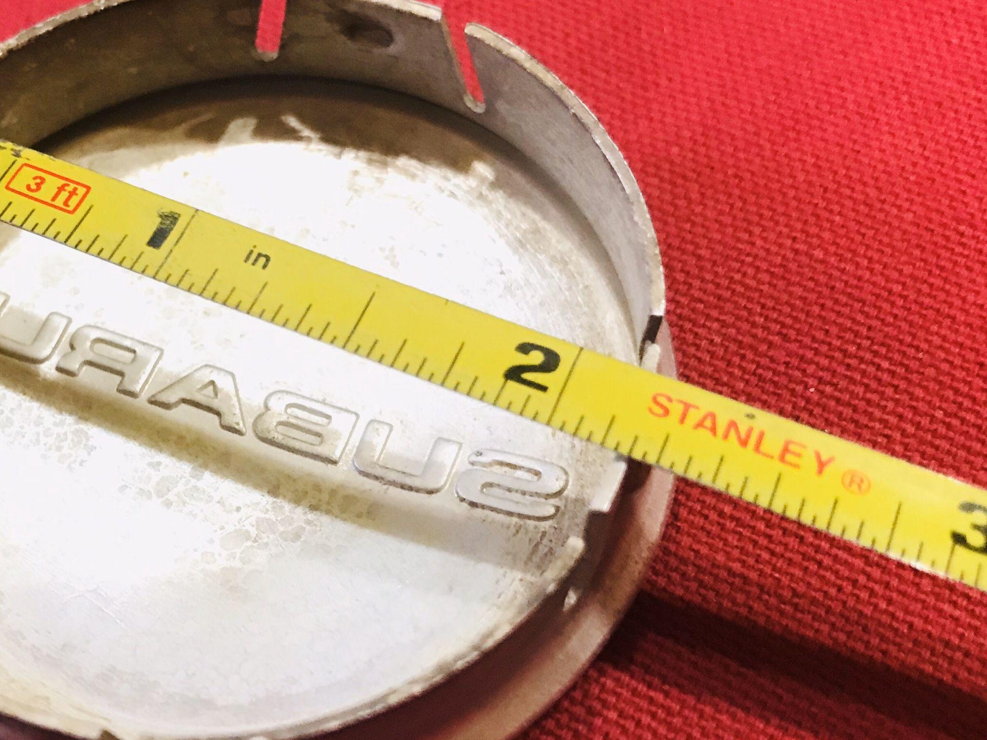 Subaru rim center caps.