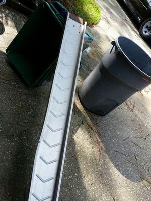 Aluminum motorcycle ramp for Sale in DeBary, FL
