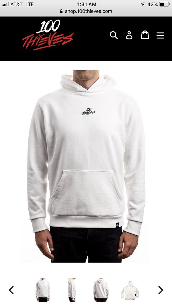 buy online elegant shoes new release 100 Thieves Cream Hoodie Large WANT TO BUY for Sale in Long Beach ...