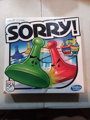 Sorry Board Game for Sale in Alexandria, VA
