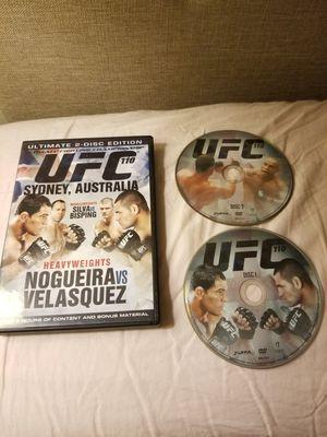 UFC 110 DVD - Nogueira vs Velasquez for Sale in San Francisco, CA
