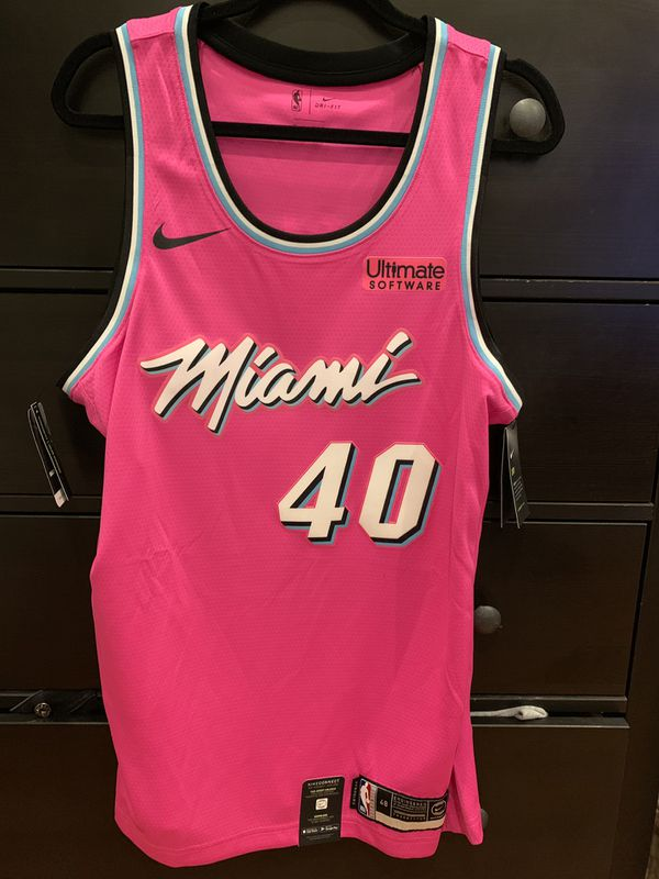 e8a0e62ac Udonis Haslem Miami Heat Nike Sunset Vice Pink Jersey for Sale in Davie