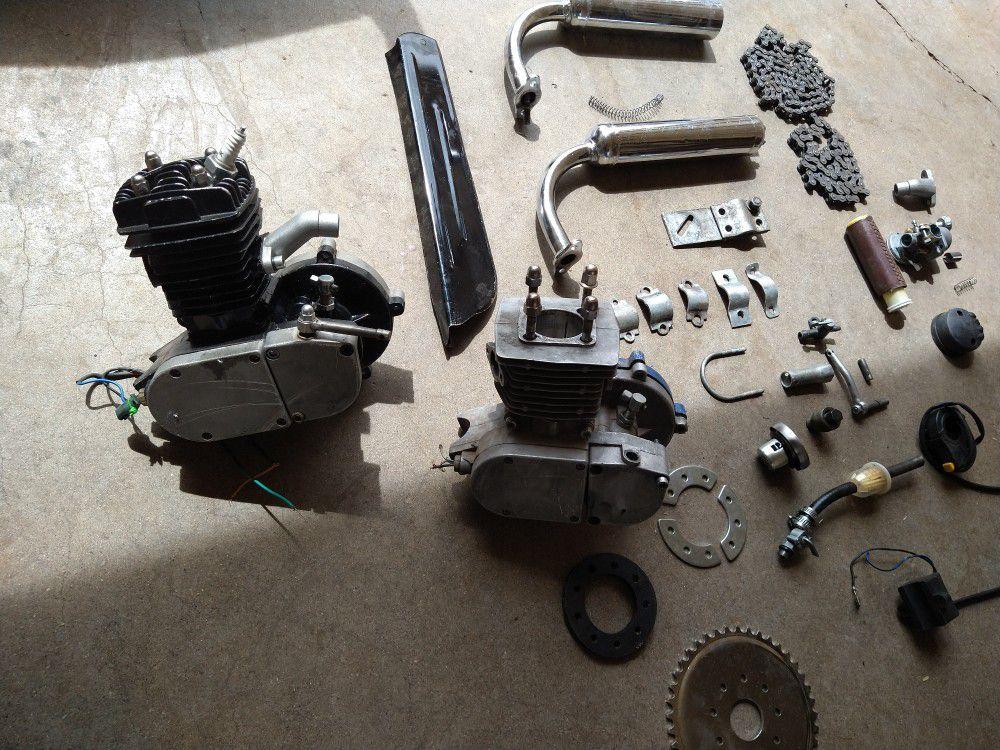 Photo Motor Gas Bike Parts