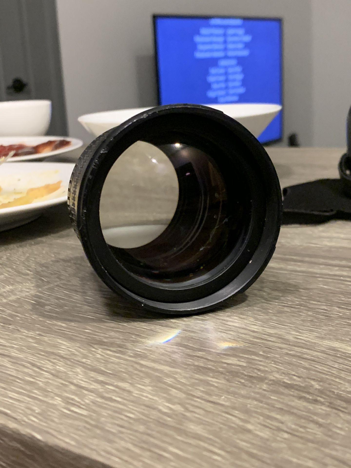 Rokinon 85mm f/1.4 Aspherical Lens for Canon DSLR