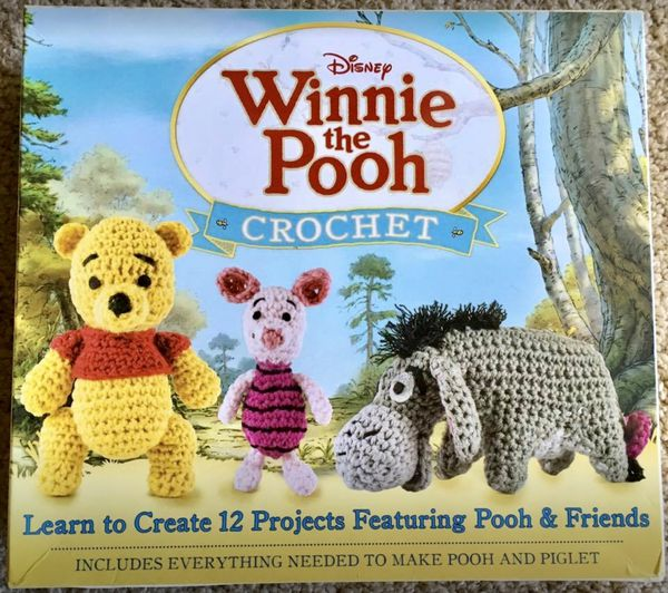 Disney Winnie The Pooh Crochet Kit New Sealed Box For Sale In Tarpon