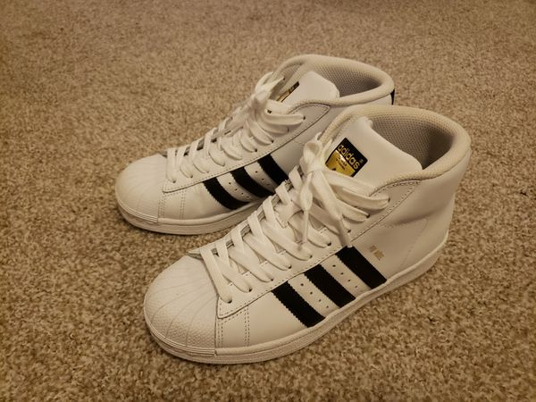 Adidas Superstar Womens High Top