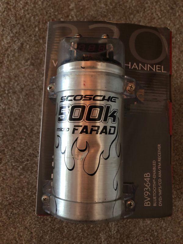 Scosche 500K Micro-Farad Capacitor for Sale in Auburn, WA