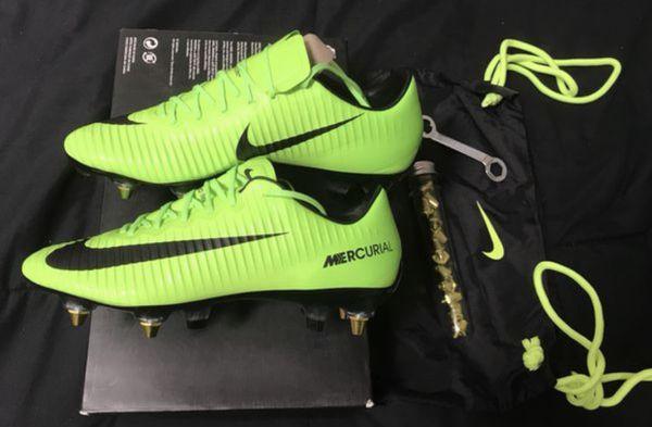 more photos 4e480 6c224 Nike Mercurial Vapor XI 11 SG Pro AC Size 7 Soccer!