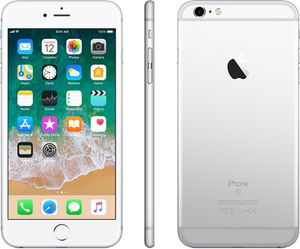 Unlocked iPhone 6S Plus, 64 GB, Silver for Sale in Gaithersburg, MD