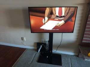 """Sharp 42"""" 1080 Roku TV and stand for Sale in Renton, WA"""
