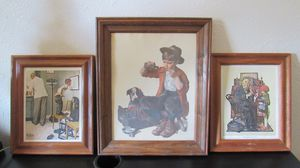 Vintage Norman Rockwell prints for Sale in Austin, TX