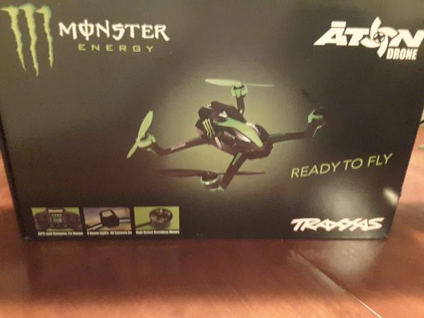 NEW Traxxas Aton Quadcopter Drone Model 7908 Monster Energy Limited Edition  for Sale in Margate, FL - OfferUp