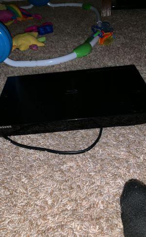 Samsung blue ray DVD player for Sale in Manassas, VA