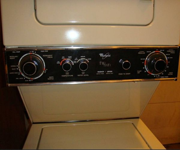 Whirlpool Stackable Washer Dryer Apartment Size Electric 110volt Liances In Houston Tx Offerup