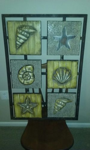 Rustic sea shells wall art for Sale in Gaithersburg, MD