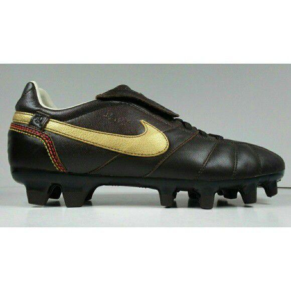53da03f15b2 2007 Ronaldinho Nike Tiempo Brasileiro FG 315357-271 Soccer Cleat Size 6.5