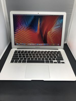 """Apple MacBook Air 13"""" 128ssd 4gb ram i5 2.13ghz with OEM charger early 2011. Mac OS is 10.13 Microsoft office for Sale in Dallas, TX"""