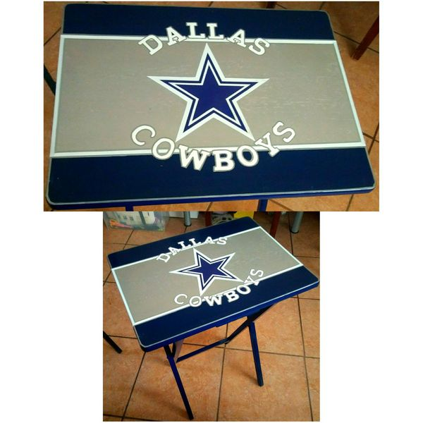 Dallas Cowboys Tv Tray Custom Painted Household In Phoenix Az