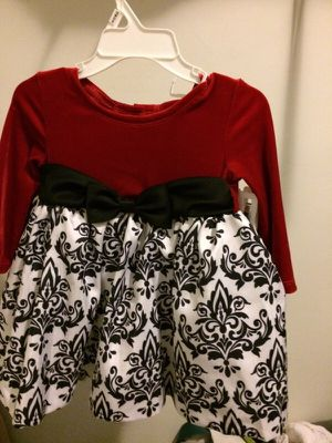 Red dress 2t for Sale in Salt Lake City, UT