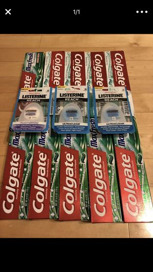 10 Colgate toothpaste 6oz fl for Sale in Springfield, VA