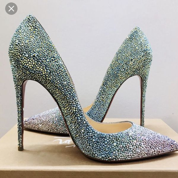 8d19942dcfe Christian Louboutin So Kate Strass Sz 38.5 for Sale in Los Angeles, CA -  OfferUp