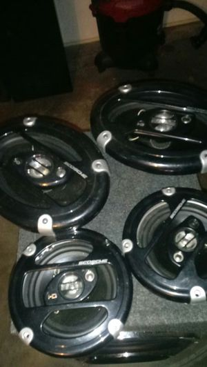 Scosch HD car speakers for Sale in Fairmont, WV