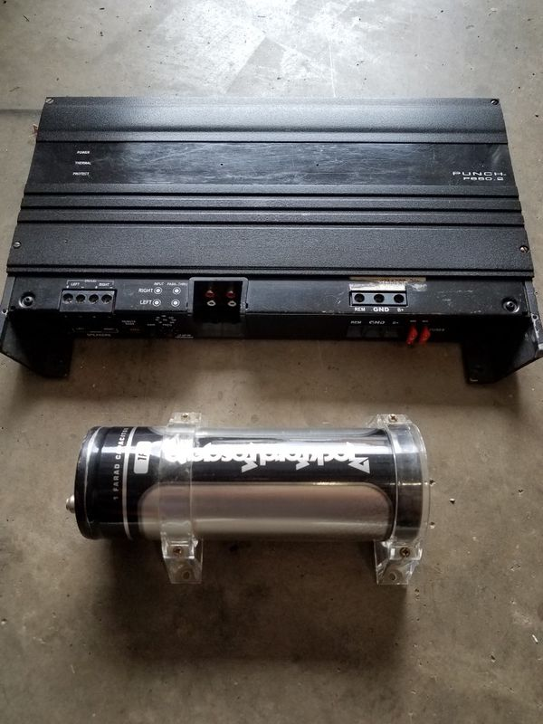 rockford fosgate punch capacitor
