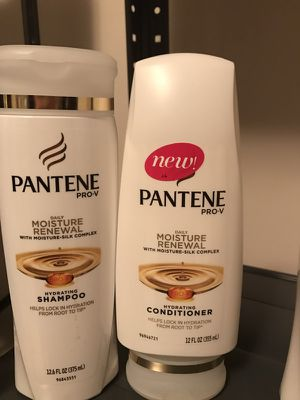 Pantene Pro V Moisture Renewal Shampoo and Conditioner 12oz for Sale in Chicago, IL