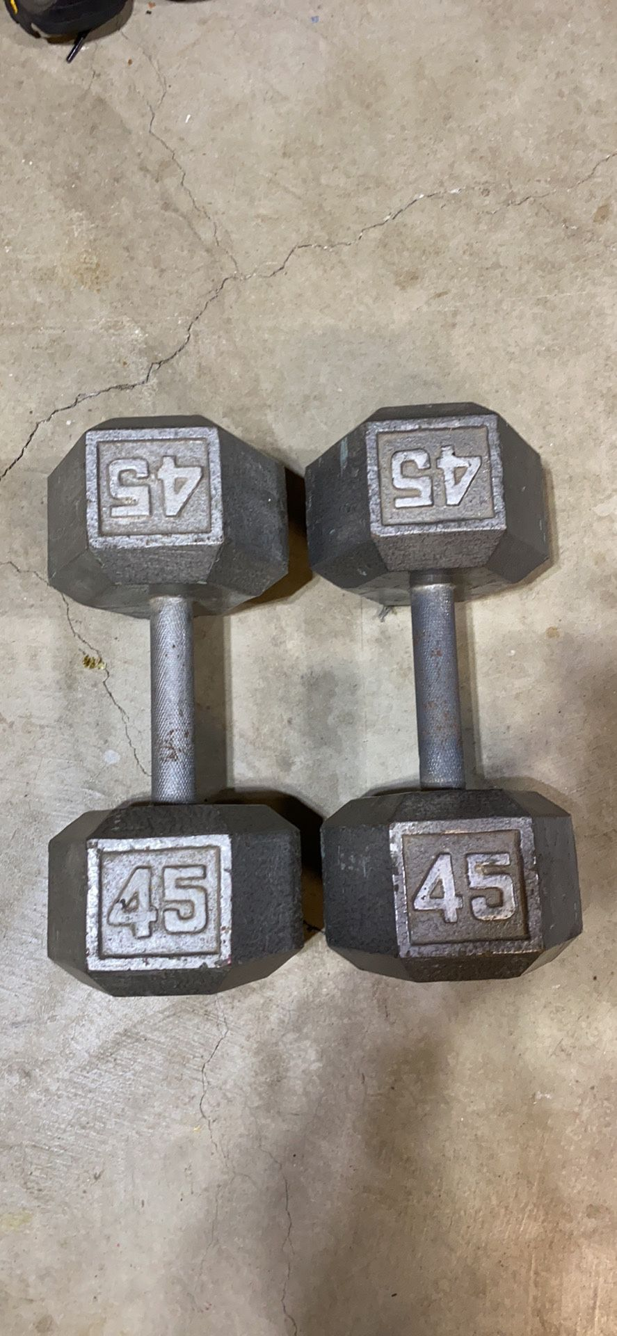 Dumbbells / Weights 45pds