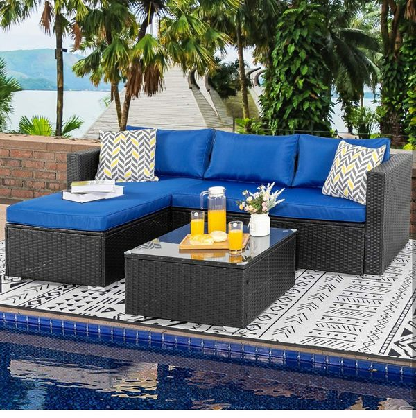 Patio Covers Woodland Hills Ca: Outdoor Furniture (4pc) Patio Sets, All-Weather Small