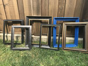 Large wooden picture frames - paintable! for Sale in San Francisco, CA