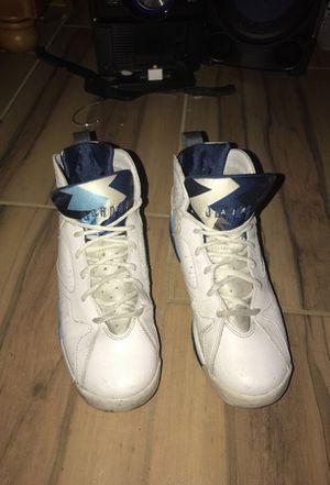 Jordan's French blue 7's size 7 men for Sale in Orlando, FL