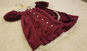 Burgundy Rose Dress/3T/$12 for Sale in Everett, WA