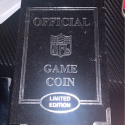 Game Coin For Patriots Vrs Rams Thumbnail