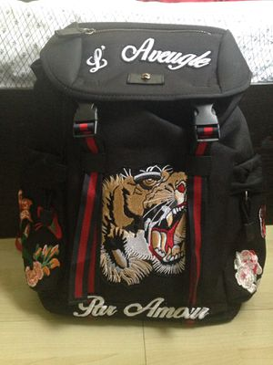 Gucci backpack embroidery tiger authentic for Sale in Los Angeles, CA