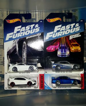 Hot Wheels Fast and Furious and extras for Sale in Kissimmee, FL