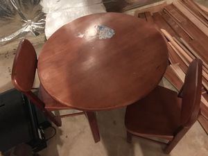 Kids wooden table for Sale in North Potomac, MD