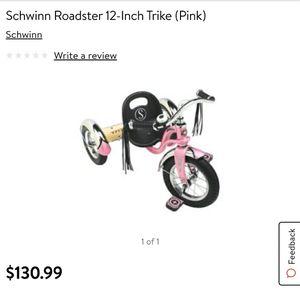 Photo Schwinn Roadster 12-Inch Trike (Pink)