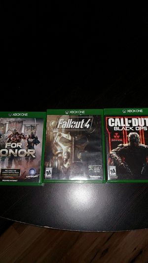 Xbox games for sales for Sale in Chantilly, VA