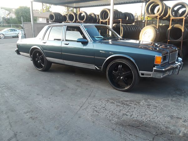 Excellent 1986 Chevy Caprice Classic On 24S For Sale In Spring Valley Ca Offerup Wiring 101 Capemaxxcnl