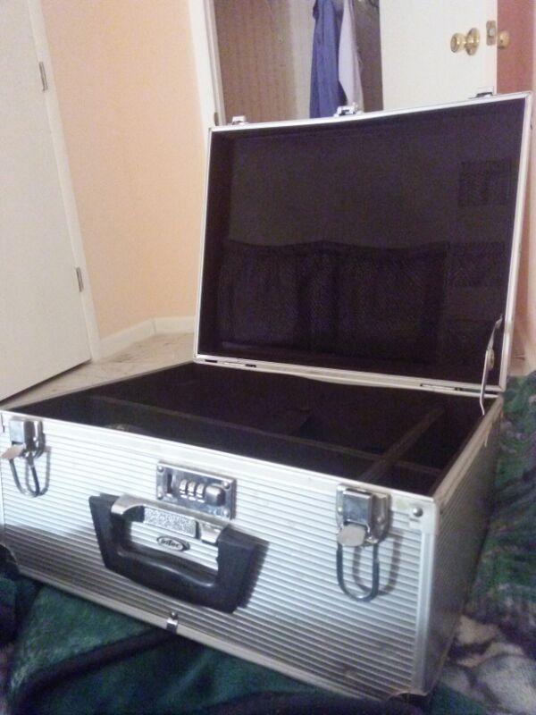 Hard Metal Carrying Case