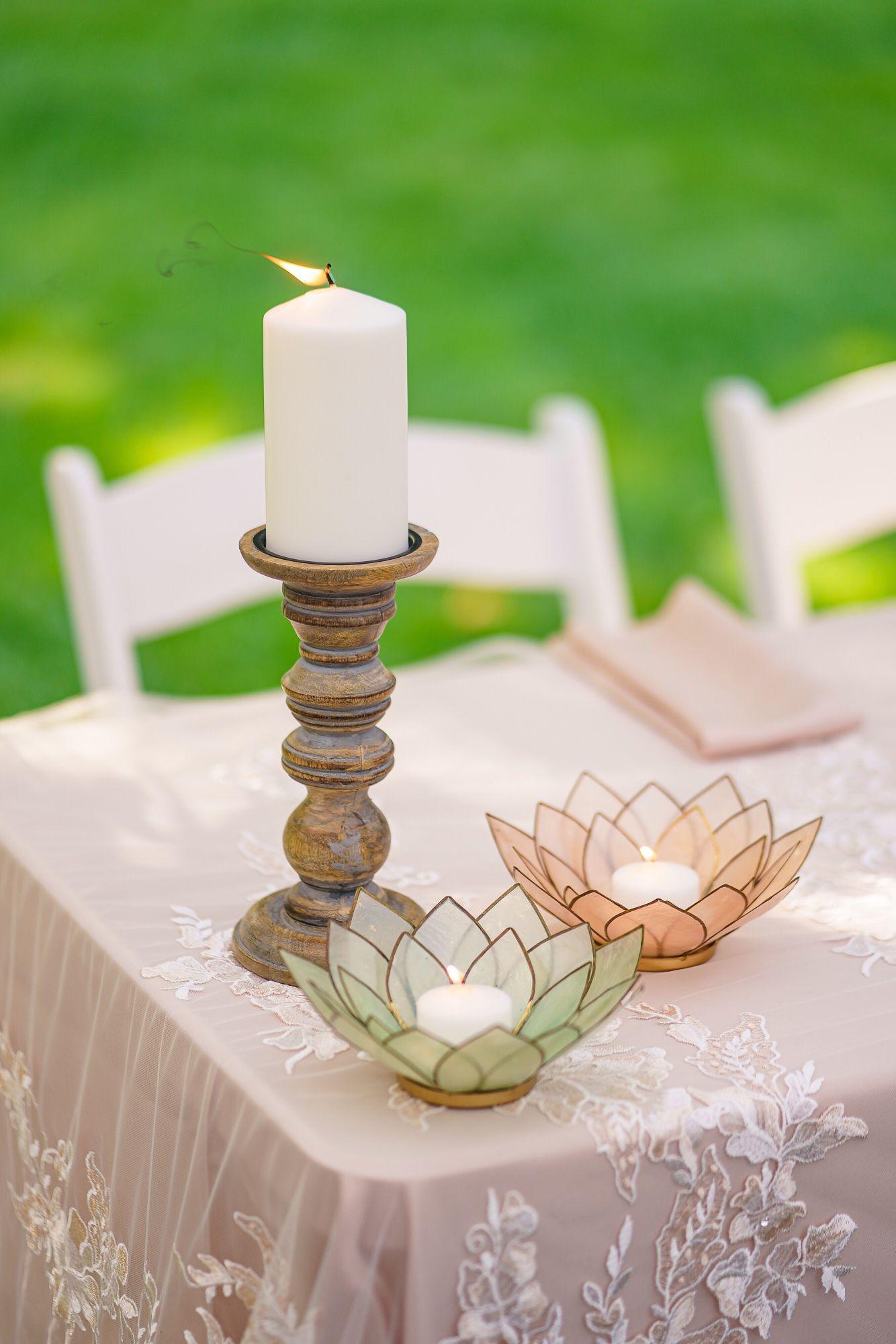 Sweetheart Wedding Table Decorations
