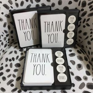 Rae Dunn Thank You Card set for Sale in Frederick, MD