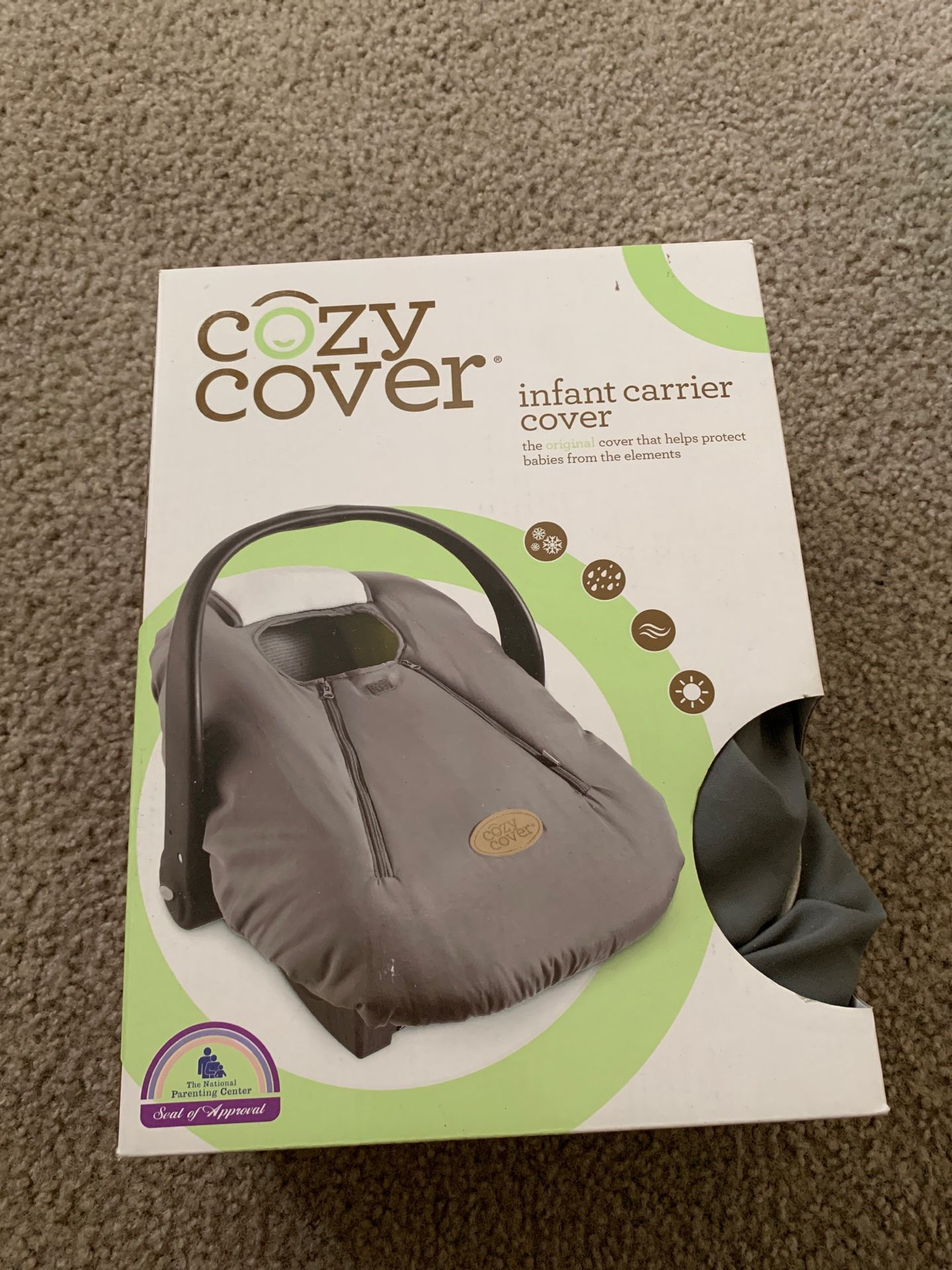 Cozy cover for the cold!