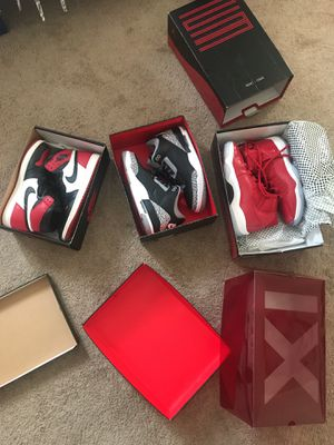 Air Jordan 1's 3's 11's for Sale in Silver Spring, MD