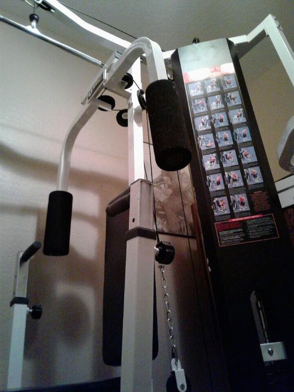 Free Marcy home gym  Need to take apart and haul away this